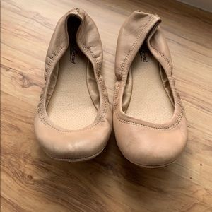 Lucky Brand Taupe Flats